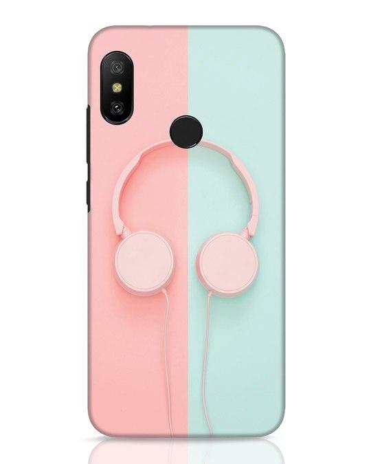 Shop Pastel Music Xiaomi Redmi 6 Pro Mobile Cover-Front