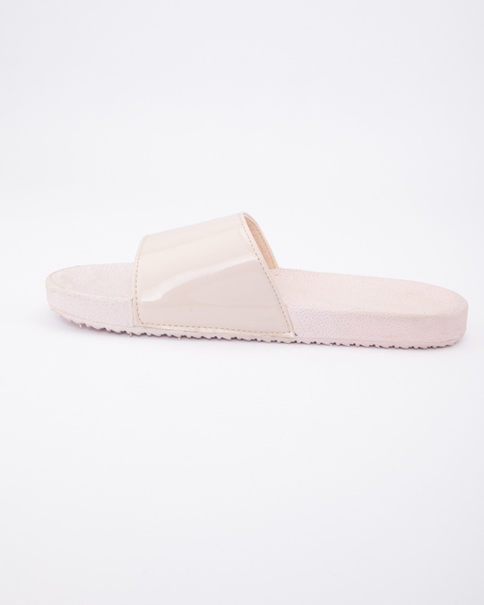 Shop Women Pastel Pink Sliders-Full