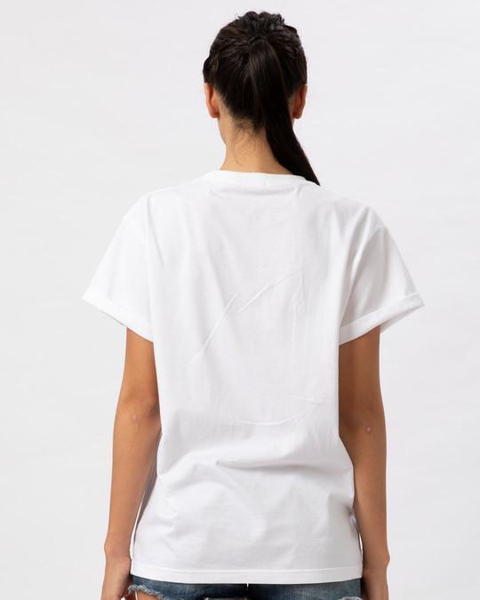Shop Pastel Stay Chill Boyfriend T-Shirt-Back