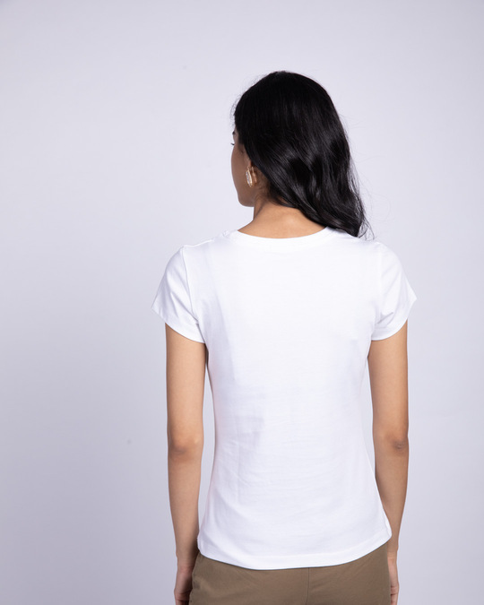 Shop Pastel Stay Chill Half Sleeve T-Shirt-Back