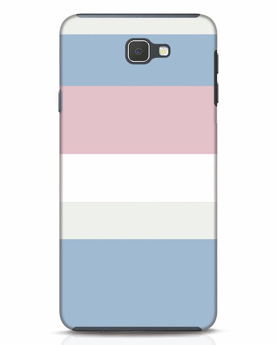 Shop Pastels Stripes Samsung Galaxy J7 Prime Mobile Cover-Front