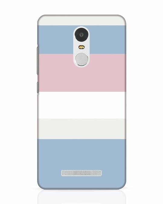 Shop Pastels Stripes Xiaomi Redmi Note 3 Mobile Cover-Front