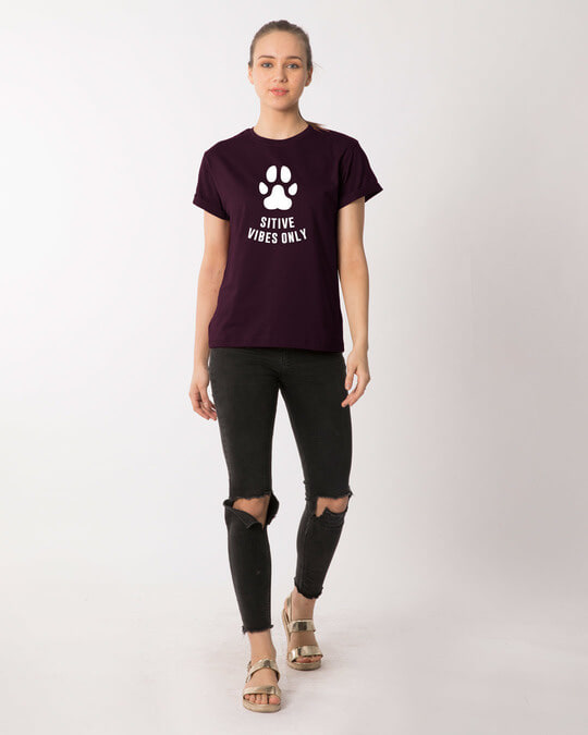 Shop Pawsitive Only Boyfriend T-Shirt
