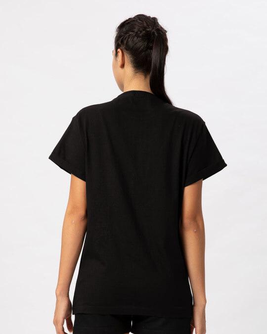 Shop Peace Camouflage Boyfriend T-Shirt-Full