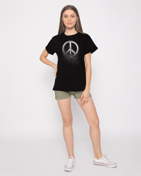 Shop Peace Dispersion Boyfriend T-Shirt