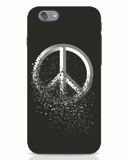 Shop Peace Dispersion iPhone 6 Mobile Cover-Front