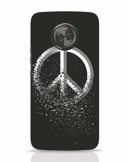 Shop Peace Dispersion Moto X4 Mobile Cover-Front