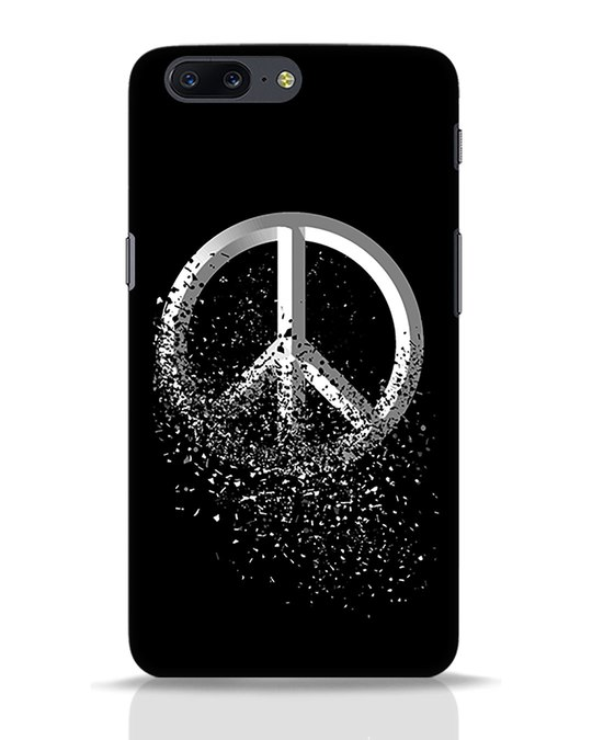 Shop Peace Dispersion OnePlus 5 Mobile Cover-Front