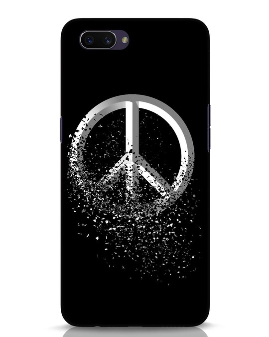 Shop Peace Dispersion Oppo A3S Mobile Cover-Front