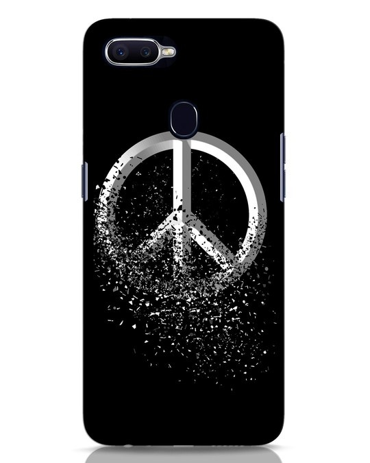 Shop Peace Dispersion Oppo F9 Pro Mobile Cover-Front