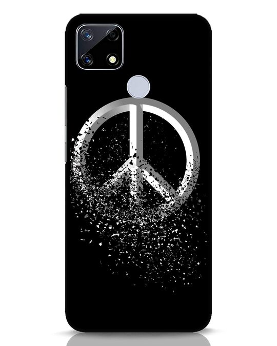 Shop Peace Dispersion Realme Narzo 20 Mobile Cover-Front