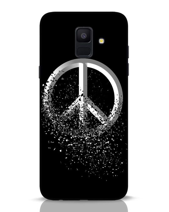 Shop Peace Dispersion Samsung Galaxy A6 2018 Mobile Cover-Front