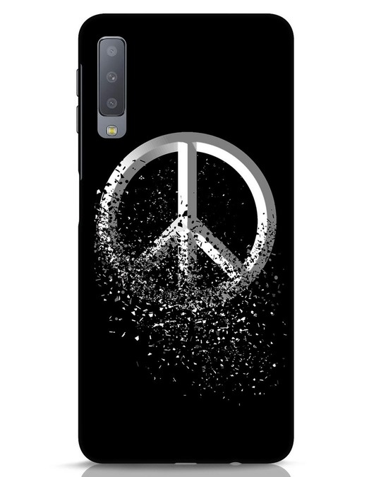 Shop Peace Dispersion Samsung Galaxy A7 Mobile Cover-Front