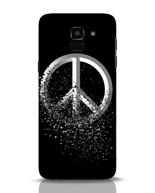Shop Peace Dispersion Samsung Galaxy J6 Mobile Cover-Front
