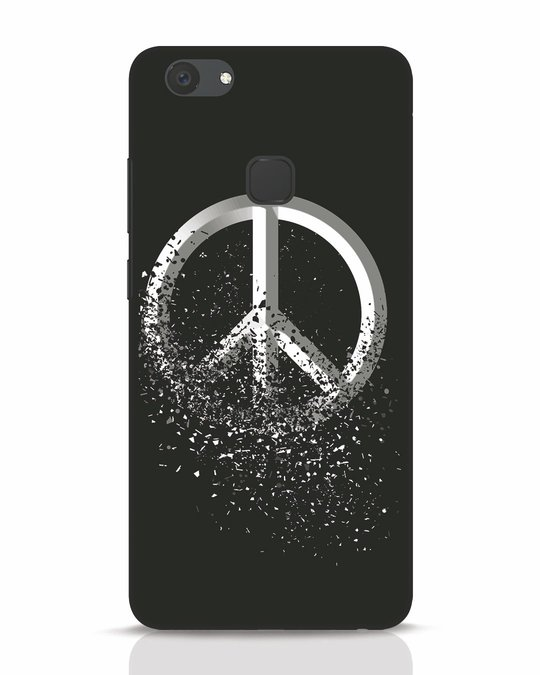 Shop Peace Dispersion Vivo V7 Plus Mobile Cover-Front