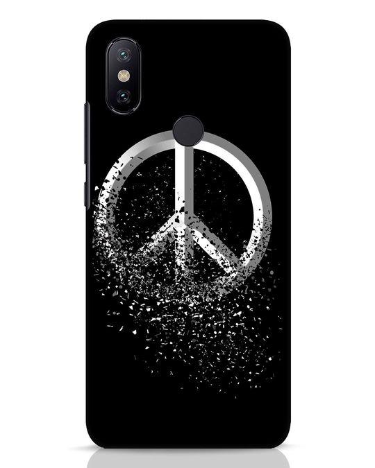 Shop Peace Dispersion Xiaomi Mi A2 Mobile Cover-Front