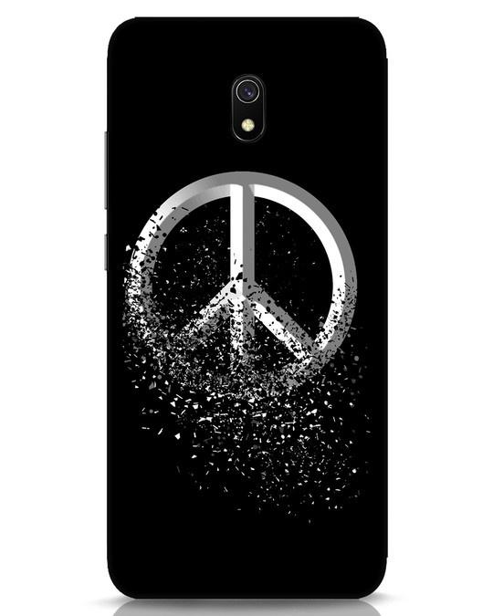 Shop Peace Dispersion Xiaomi Redmi 8A Mobile Cover-Front