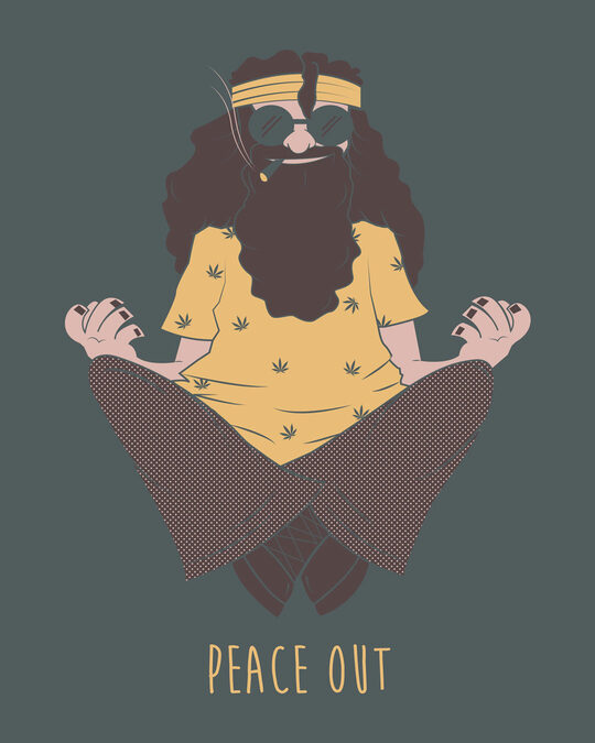 Shop Peace Out Full Sleeve T-Shirt-Full