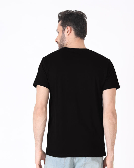 Shop Peace Out Shadow Half Sleeve T-Shirt