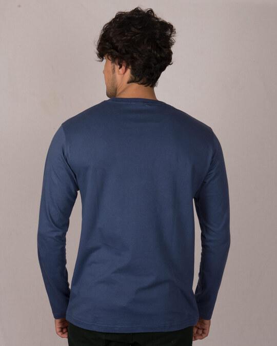 Shop Peace Puff Full Sleeve T-Shirt-Back