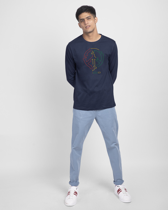 Shop Peace Puff Full Sleeve T-Shirt-Design