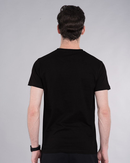 Shop Peace Puff Half Sleeve T-Shirt-Back