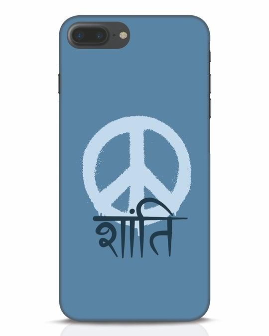 Shop Peace Shanti iPhone 7 Plus Mobile Cover-Front