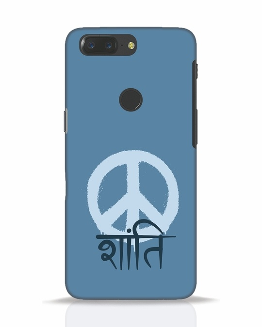 Shop Peace Shanti OnePlus 5T Mobile Cover-Front