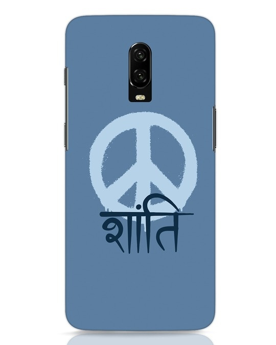 Shop Peace Shanti OnePlus 6T Mobile Cover-Front