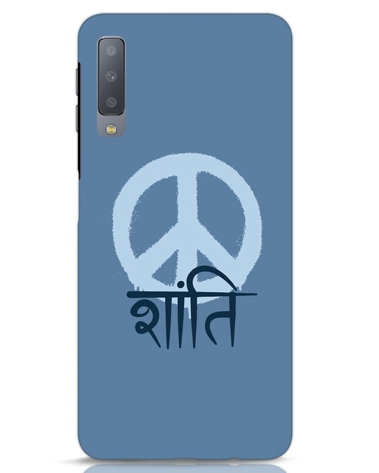 Shop Peace Shanti Samsung Galaxy A7 Mobile Cover-Front