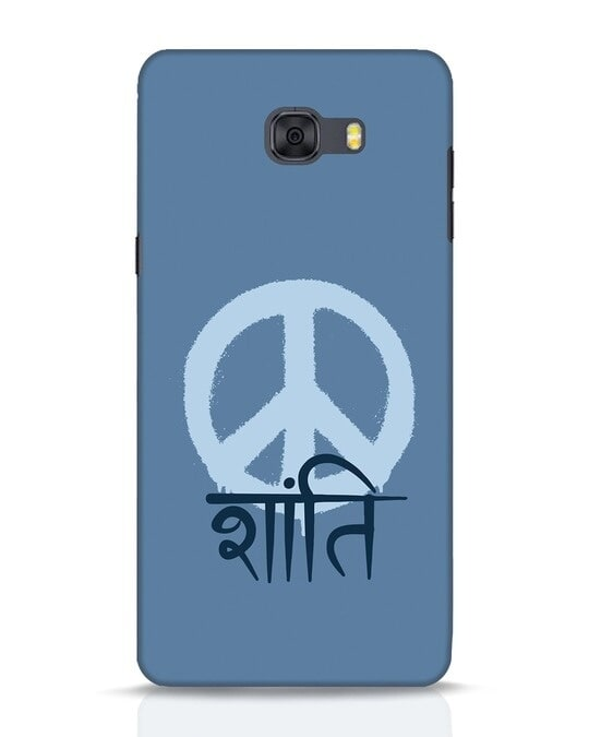 Shop Peace Shanti Samsung Galaxy C9 Pro Mobile Cover-Front