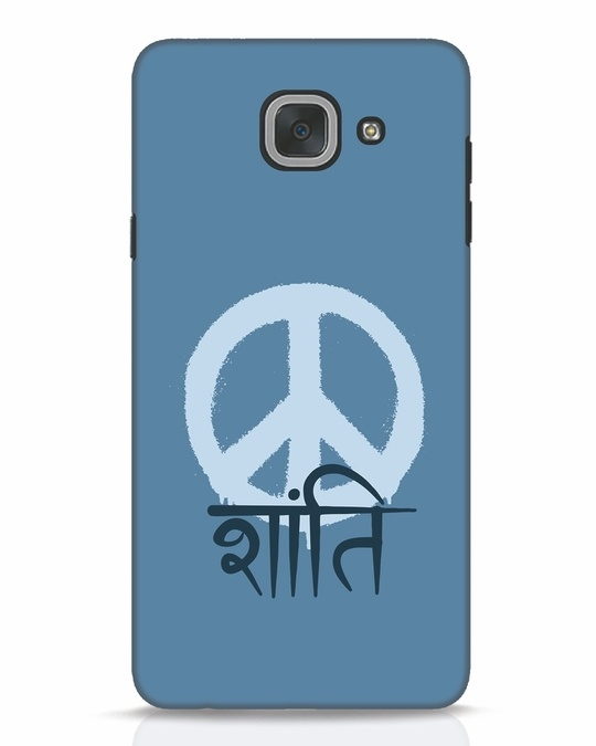 Shop Peace Shanti Samsung Galaxy J7 Max Mobile Cover-Front