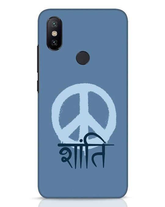 Shop Peace Shanti Xiaomi Mi A2 Mobile Cover-Front