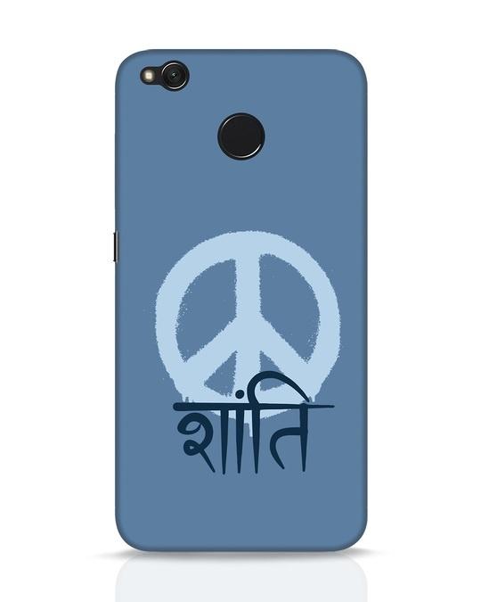 Shop Peace Shanti Xiaomi Redmi 4 Mobile Cover-Front