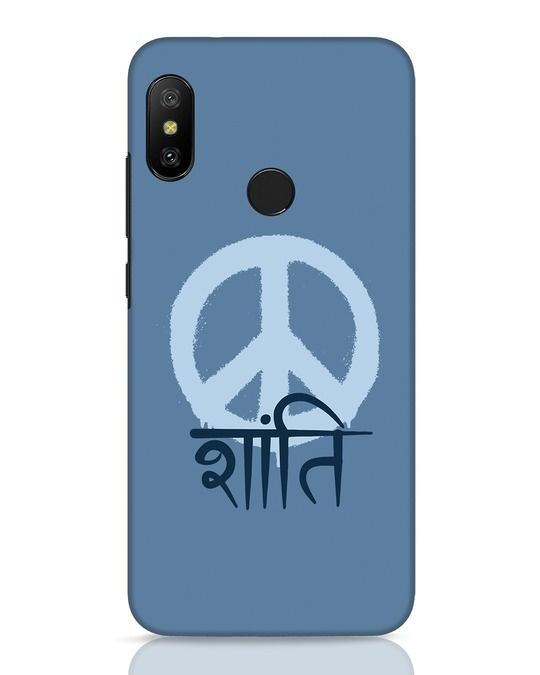 Shop Peace Shanti Xiaomi Redmi 6 Pro Mobile Cover-Front