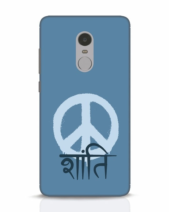Shop Peace Shanti Xiaomi Redmi Note 4 Mobile Cover-Front