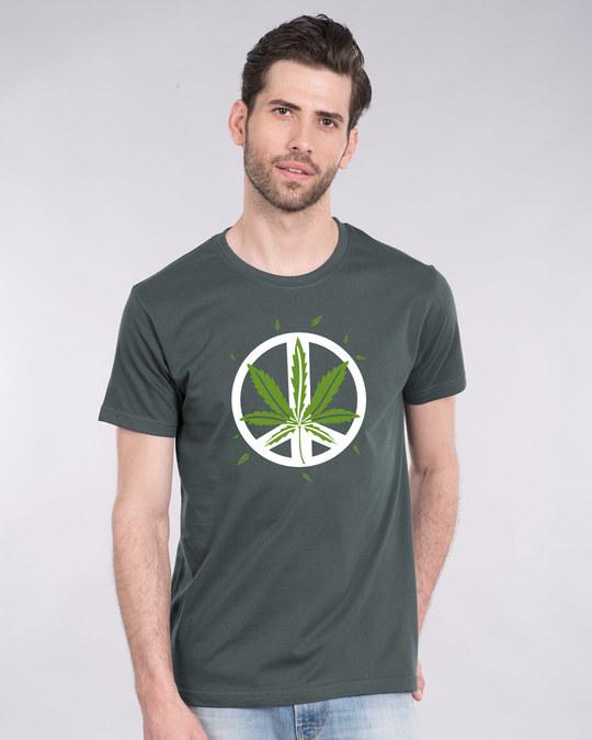 Shop Higher peace Half Sleeve T-Shirt-Back