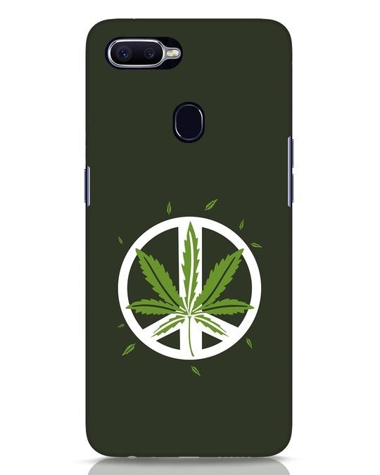 Shop Peace Leaf Realme 2 Pro Mobile Cover-Front