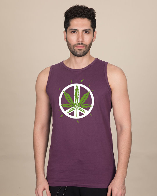 Shop Higher peace Vest-Front