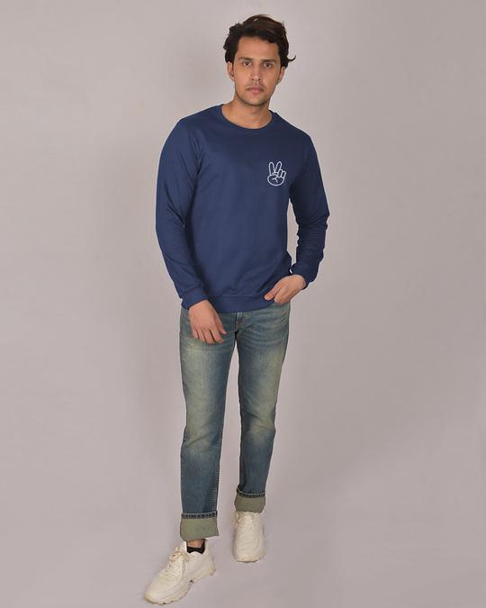 Shop Peace Yo Fleece Light Sweatshirt-Full