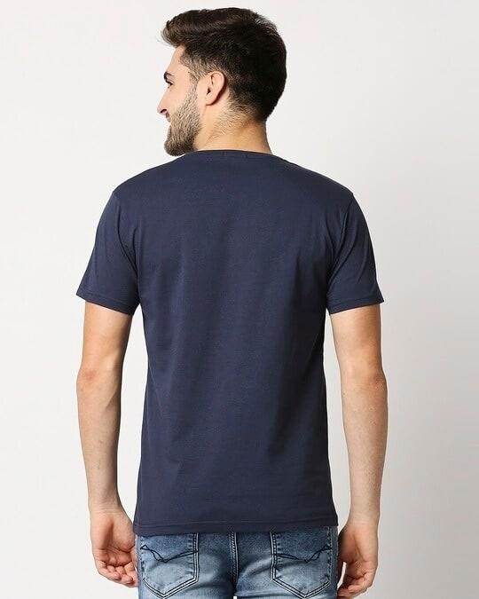Shop Pageant Blue Half Sleeve T- Shirt-Design