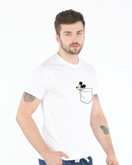 Shop Peek-a-boo Half Sleeve T-Shirt (DL)-Design