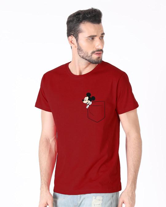 Shop Peek-a-boo Half Sleeve T-Shirt (DL)-Full