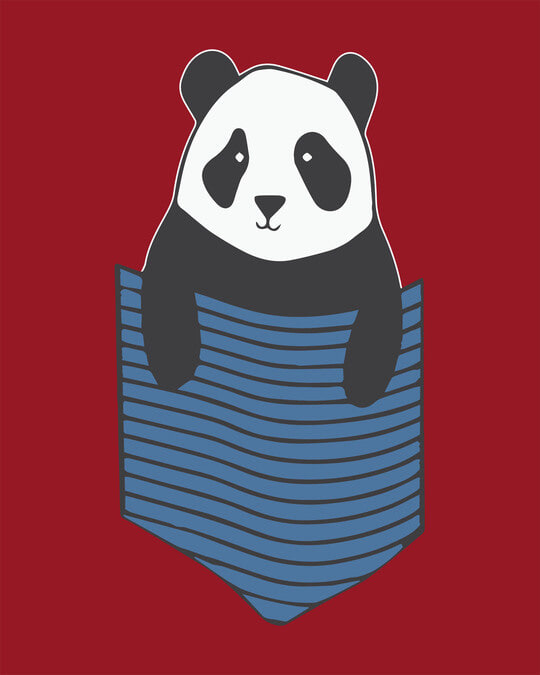 Shop Peek-a-boo Panda Full Sleeve T-Shirt