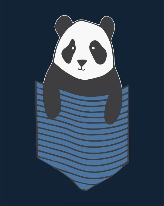 Shop Peek-a-boo Panda Full Sleeve T-Shirt
