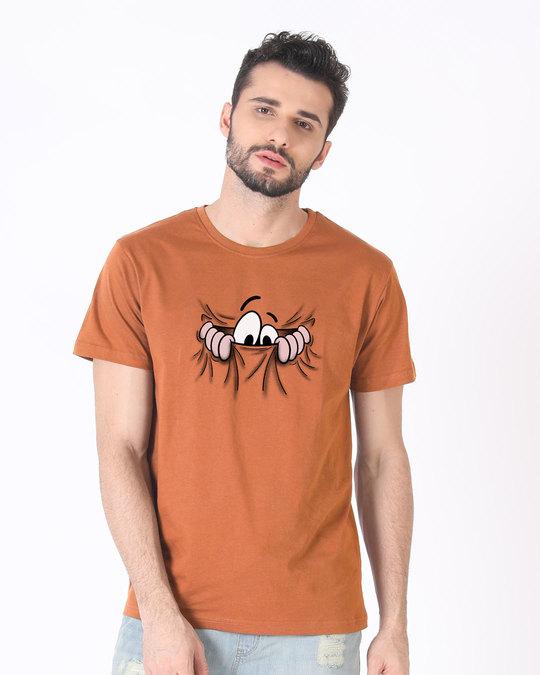 Shop Peek Out Half Sleeve T-Shirt-Back