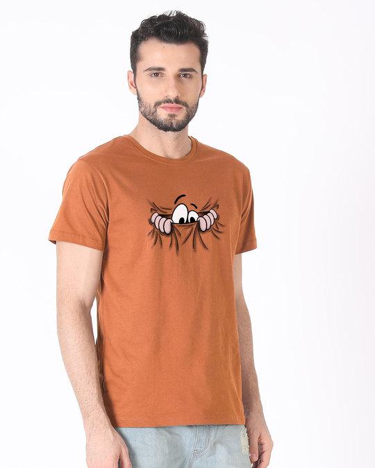 Shop Peek Out Half Sleeve T-Shirt-Full