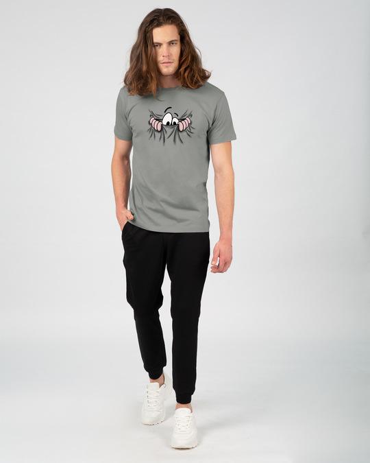 Shop Peek Out Half Sleeve T-Shirt-Design