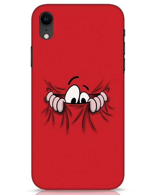 Shop Peek Out iPhone XR Mobile Cover-Front