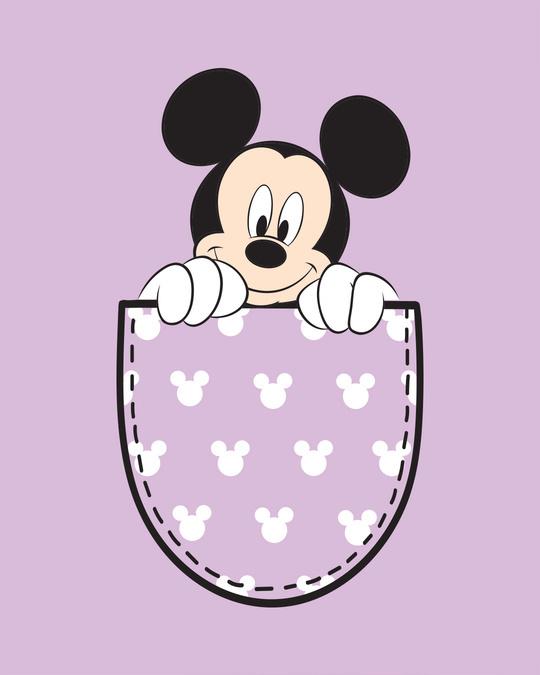 Shop Peek Out Mickey Boyfriend T-Shirt (DL)